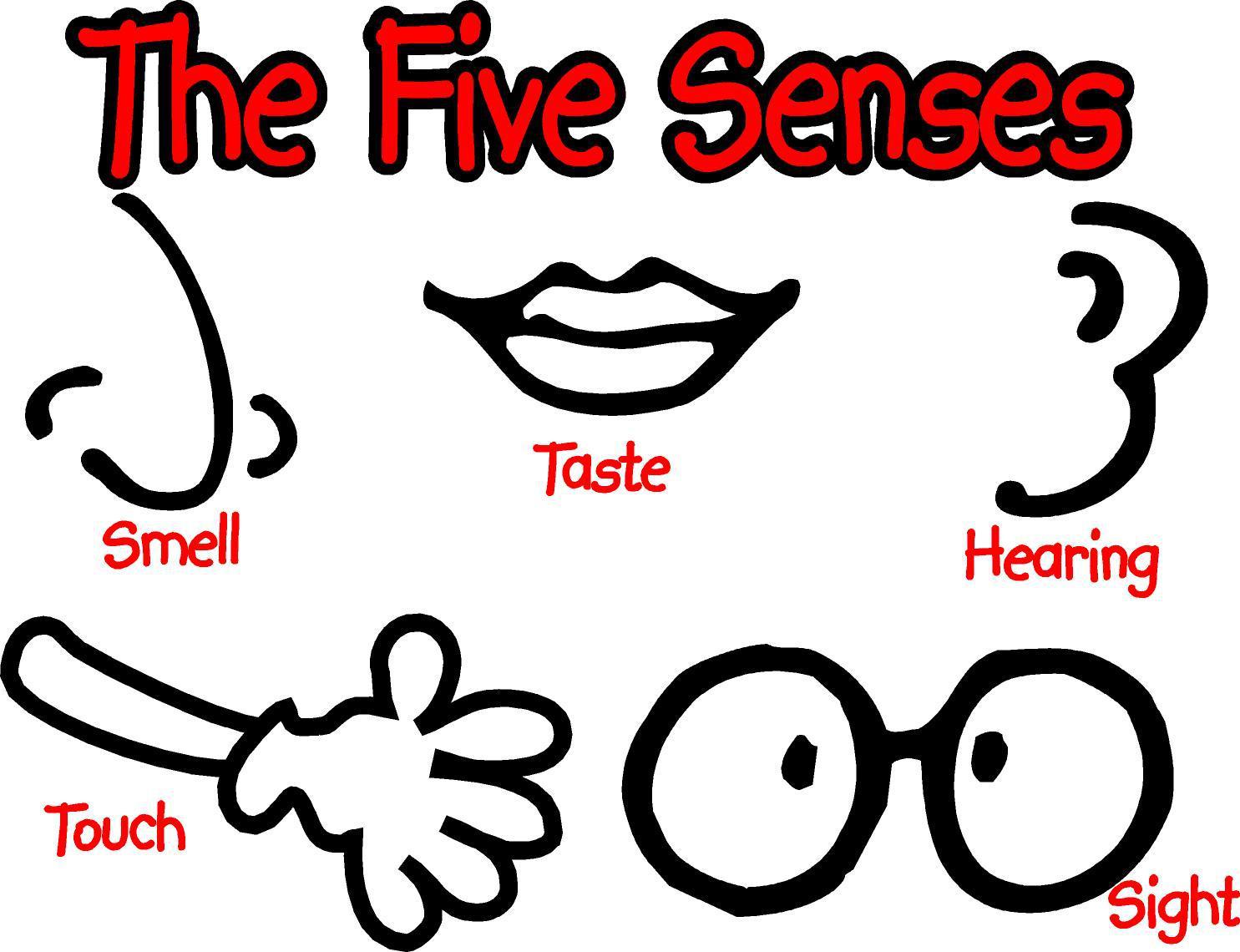 5 Senses Clipart--0