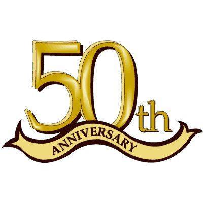 50th Anniversary Clipart