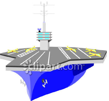 Aircraft Carrier Clipart