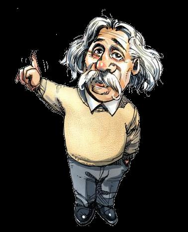 Albert Einstein Clipart--11