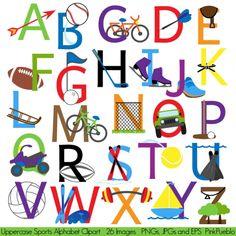 Alphabet Clipart--14