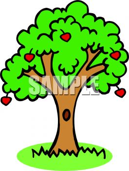 Apple Tree Clip Art--18