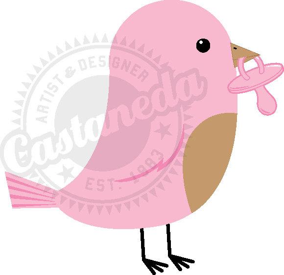 Baby Bird Clip Art--0
