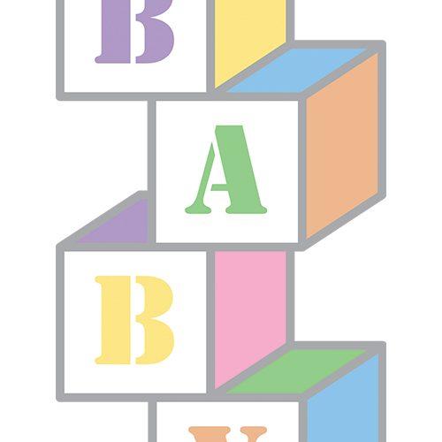 Baby Blocks Clipart--0