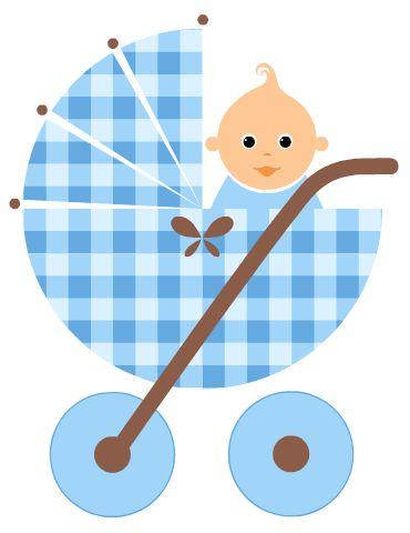 Baby Boy Shower Clip Art