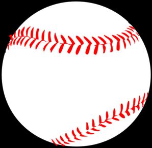 Baseball Border Clipart--0