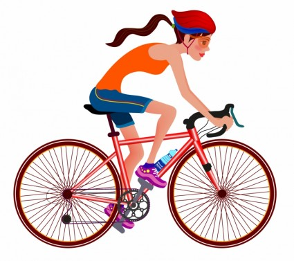 - Biking Clip Art