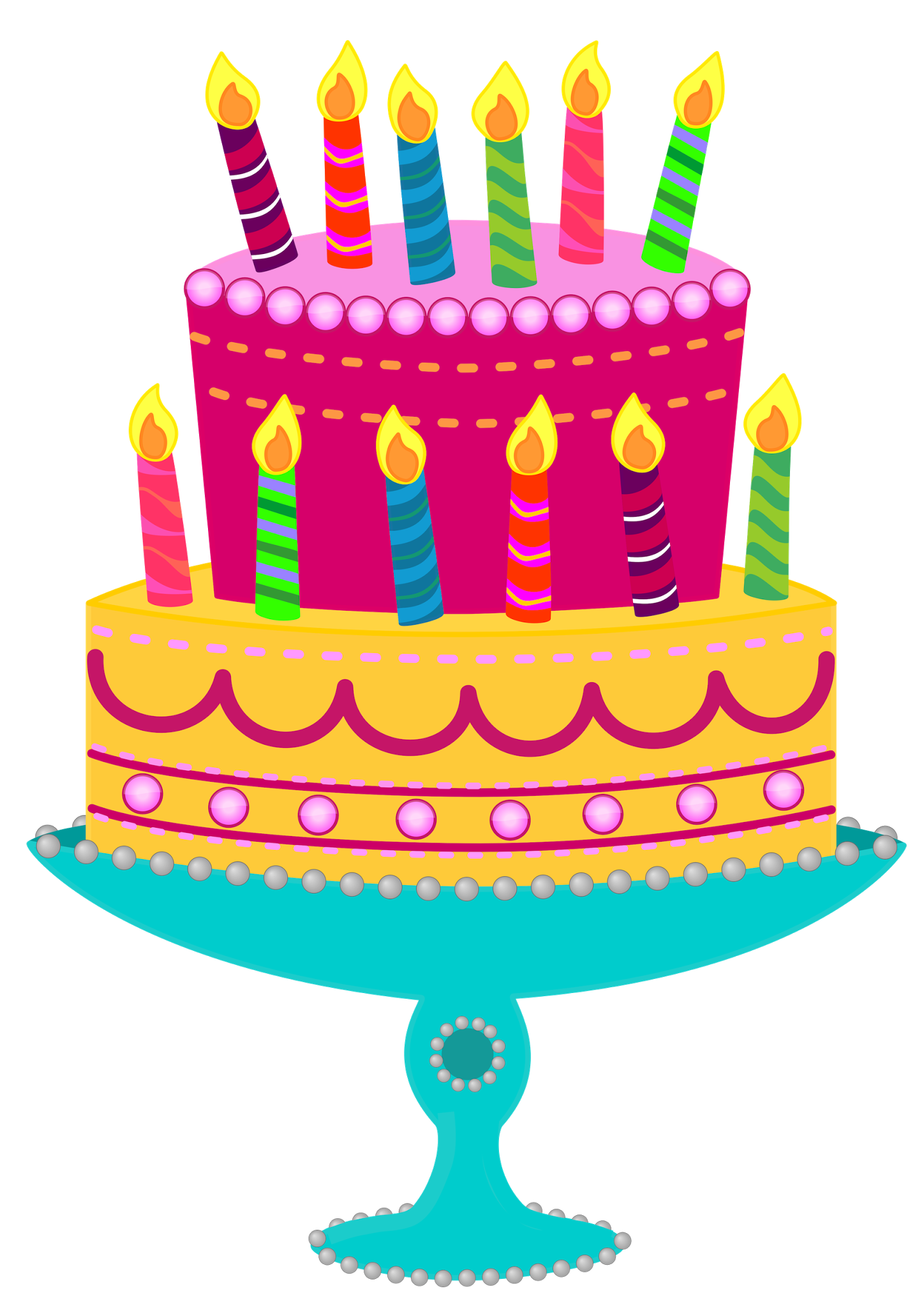 Birthday Cake Clipart--0