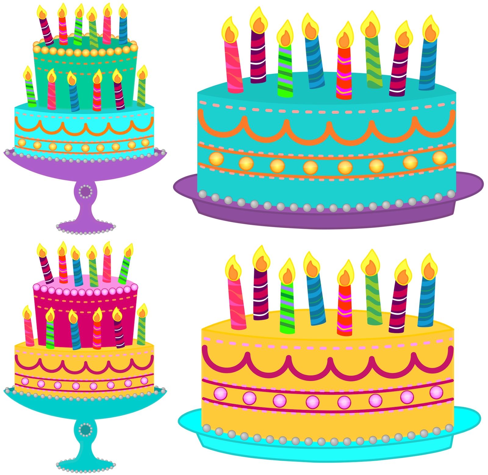 Birthday Cake Clipart--1