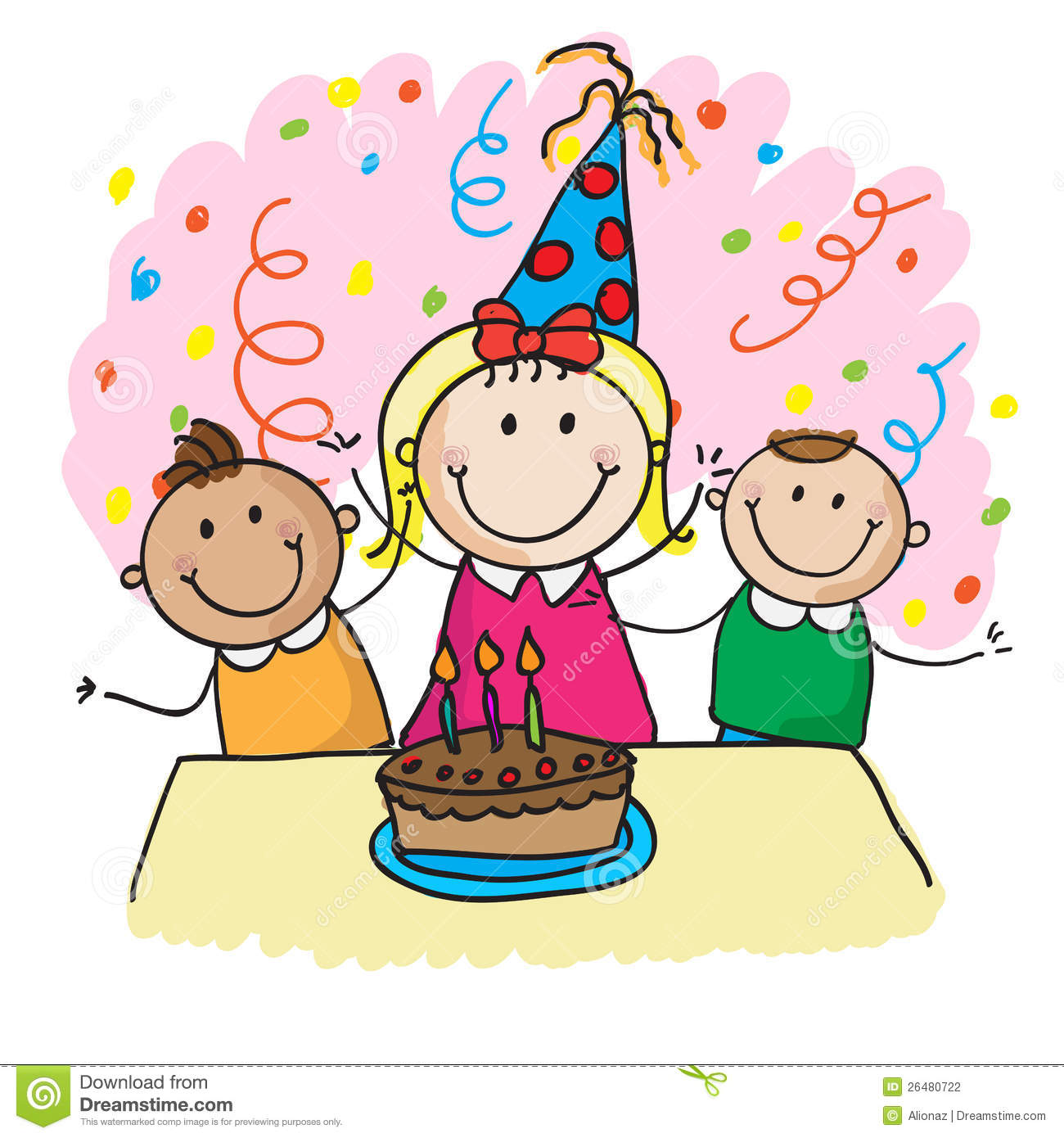Birthday Party Clipart--0