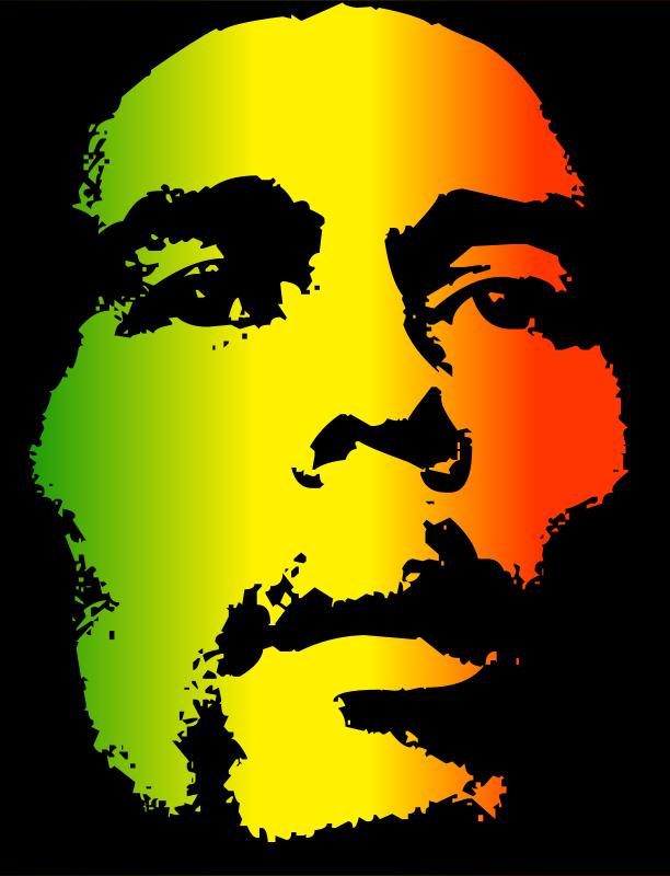 Bob Marley Clip Art