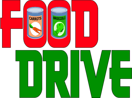 Canned Food Drive Clip Art--10