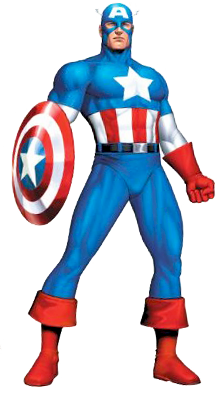 Captain America Clip Art--0