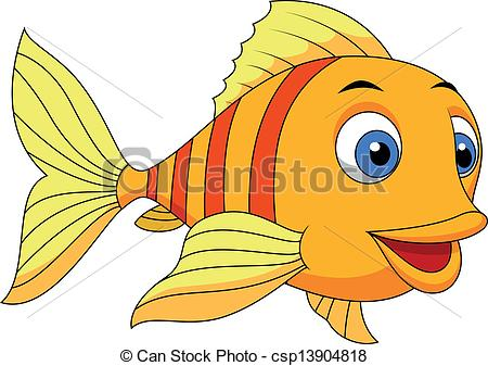 Cartoon Fish Clip Art--0