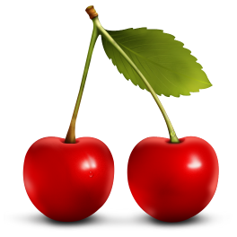 Cherries Clipart--0