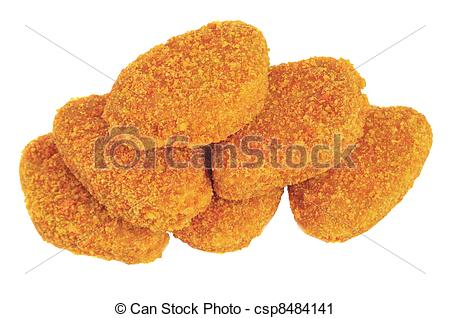 Chicken Nuggets Clipart--11