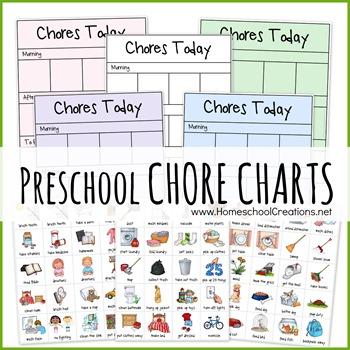 Chore Chart Clip Art