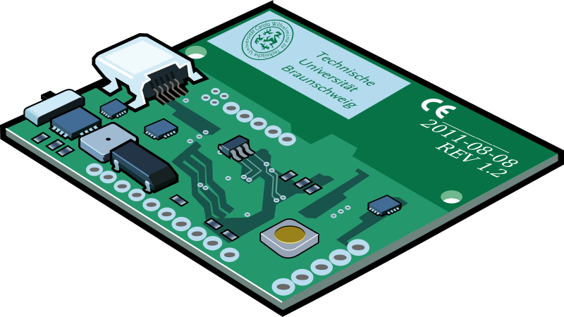 Circuit Board Clipart