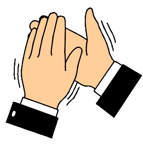 Clap Clipart--0