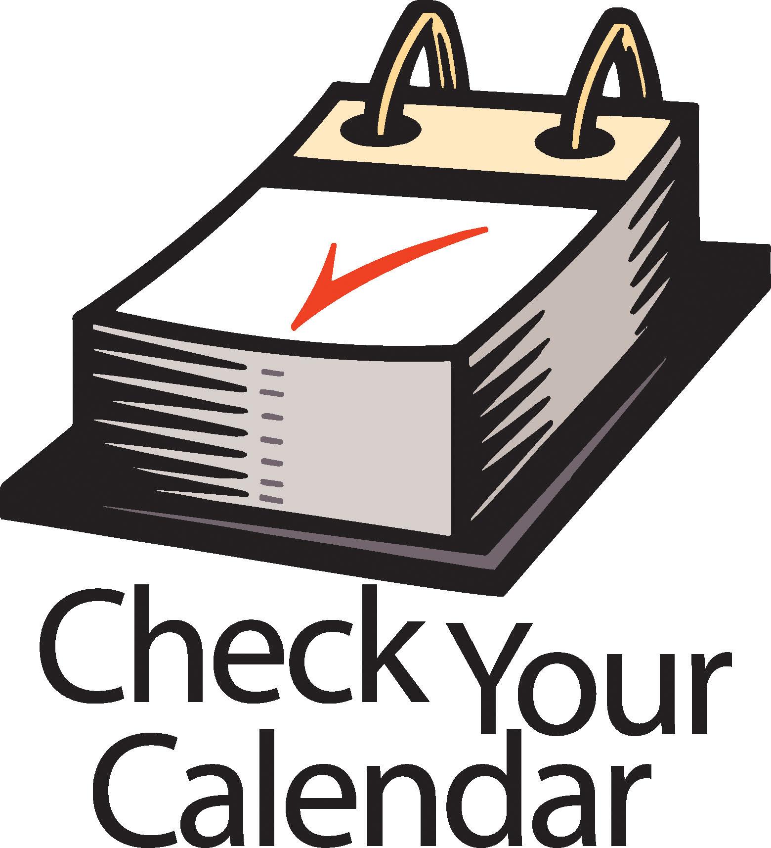 Clip Art Calendar--19
