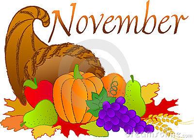 Clip Art November--0