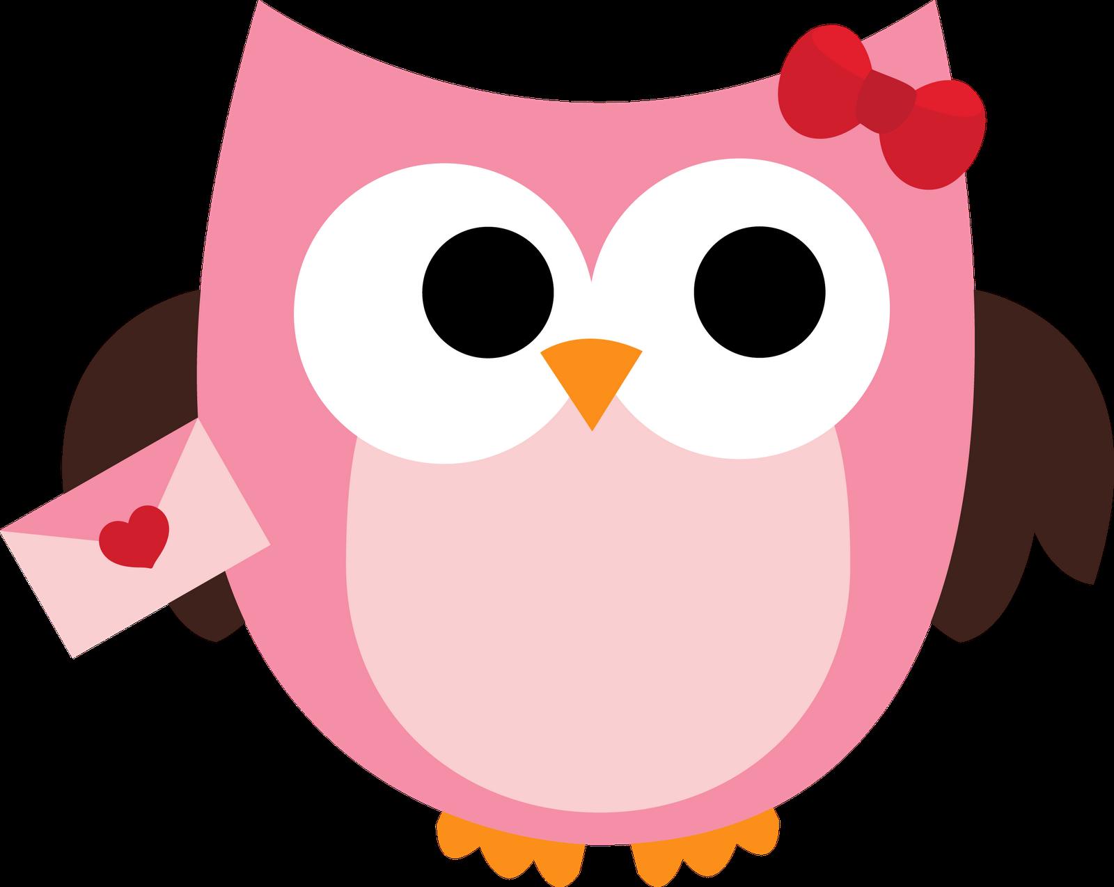 Clip Art Owls--16