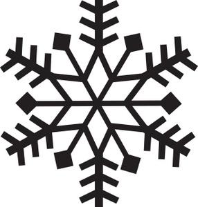 Clip Art Snowflake