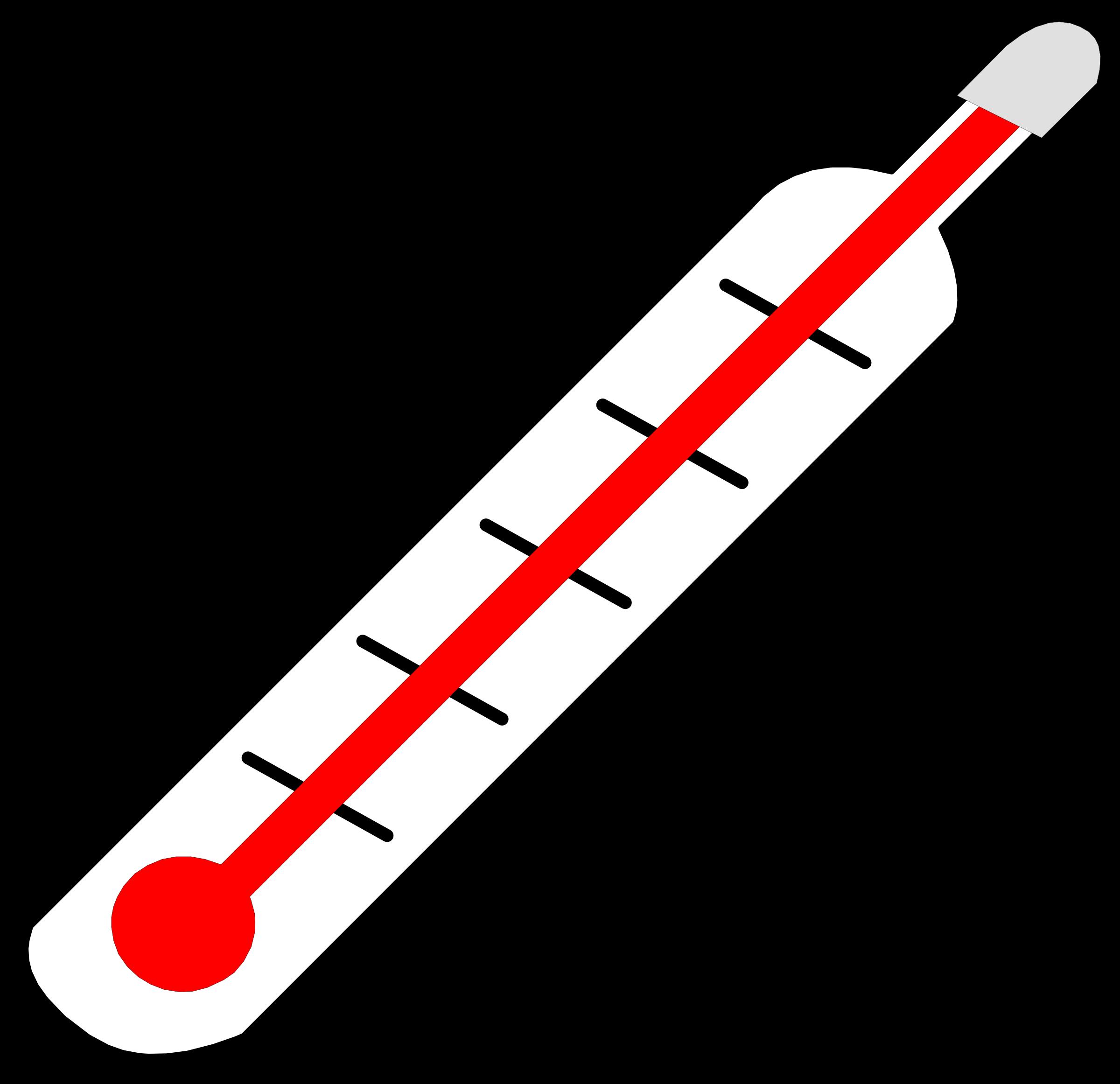 Clip Art Thermometer--11