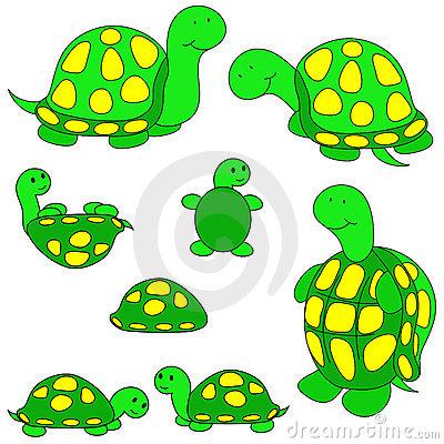 Clip Art Turtles--0