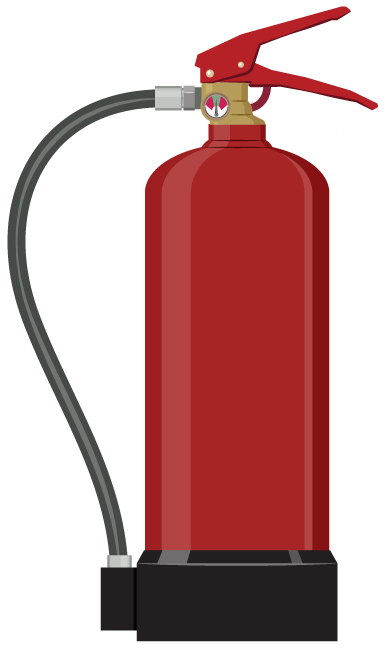 Clipart Fire Extinguisher--0