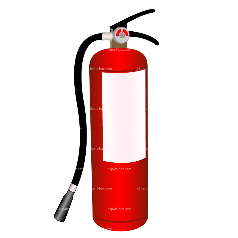 Clipart Fire Extinguisher--1