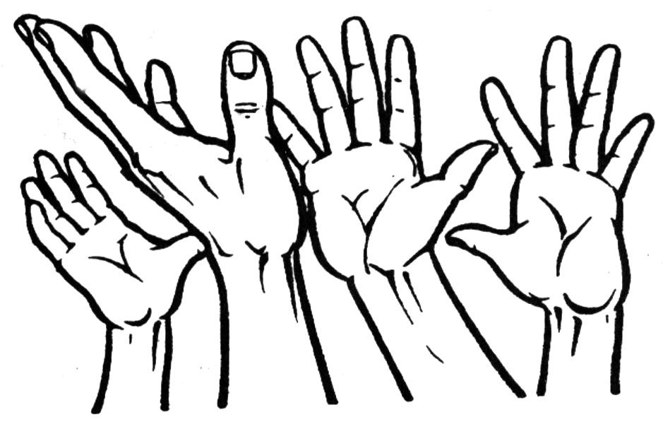 Clipart Hands--0