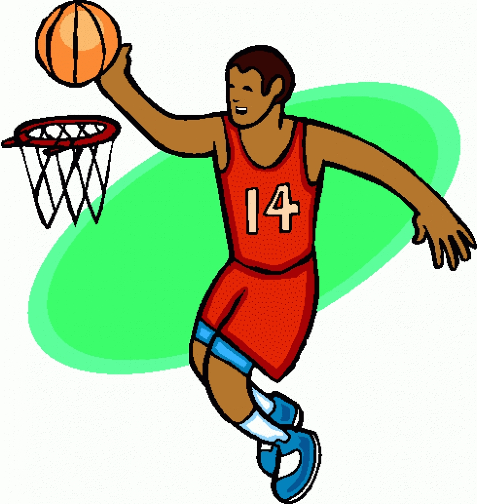 Clipart Of Basketball--0