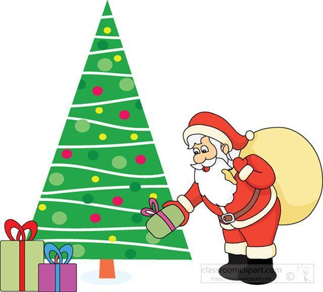 Clipart Of Santa