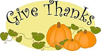 Clipart Of Thanksgiving