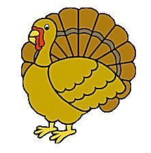 Clipart Of Turkey--4