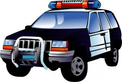 Clipart Police Car--0