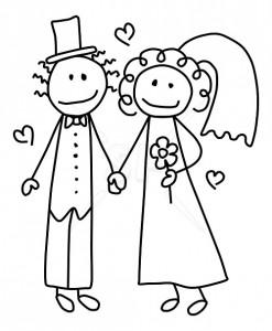 Clipart Wedding--8