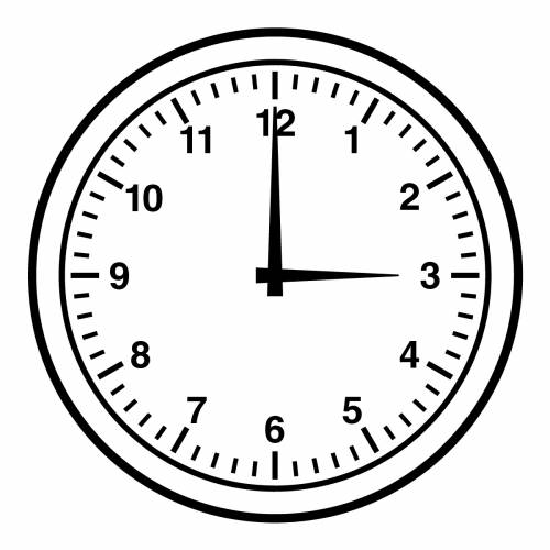 - Clock Clipart