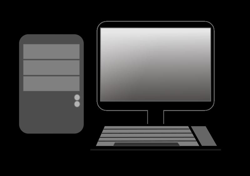 Computer Clip Art--0