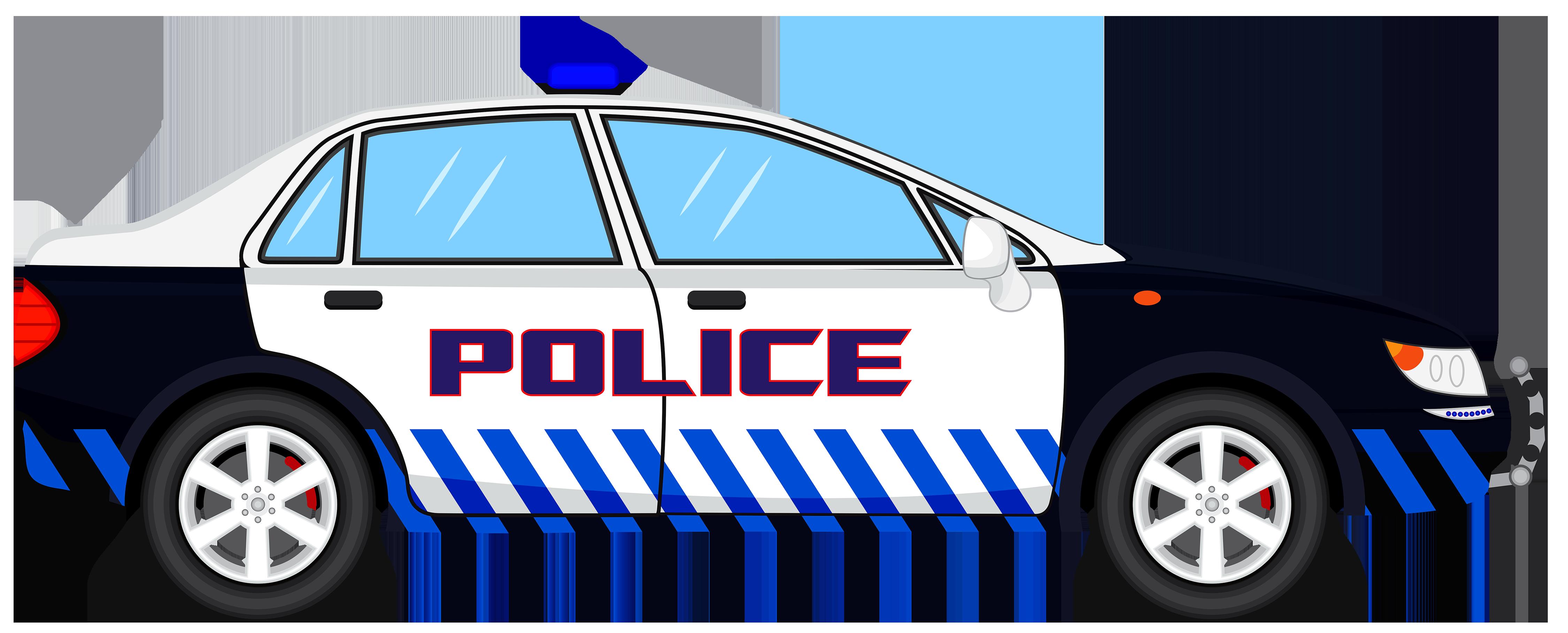 Cop Car Clipart--0