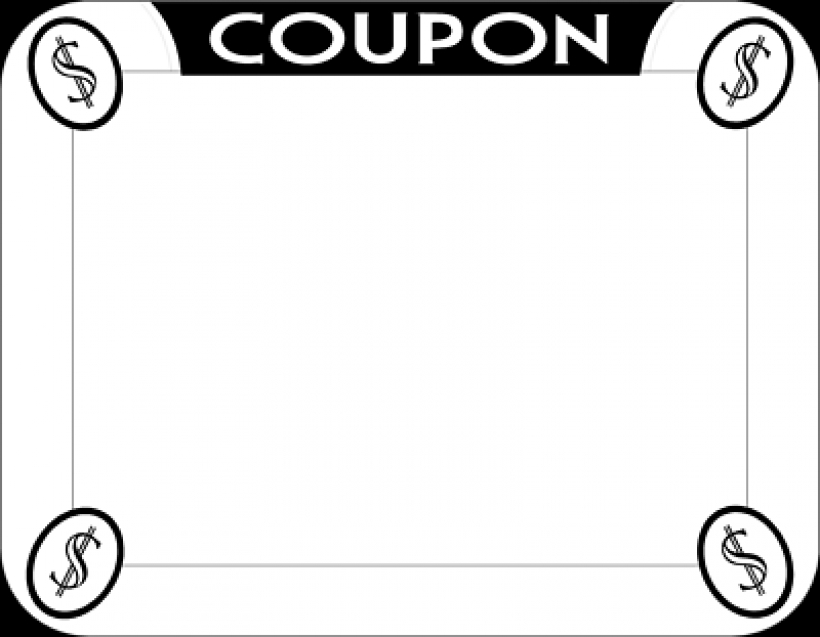 - Coupon Clip Art