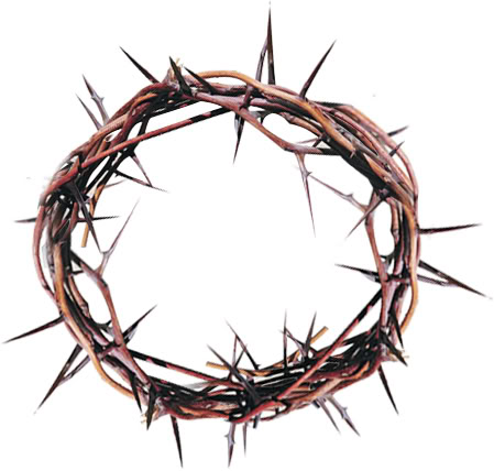 Crown Of Thorns Clipart--13