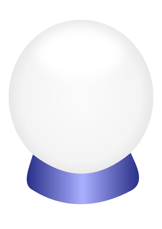 Crystal Ball Clip Art--13