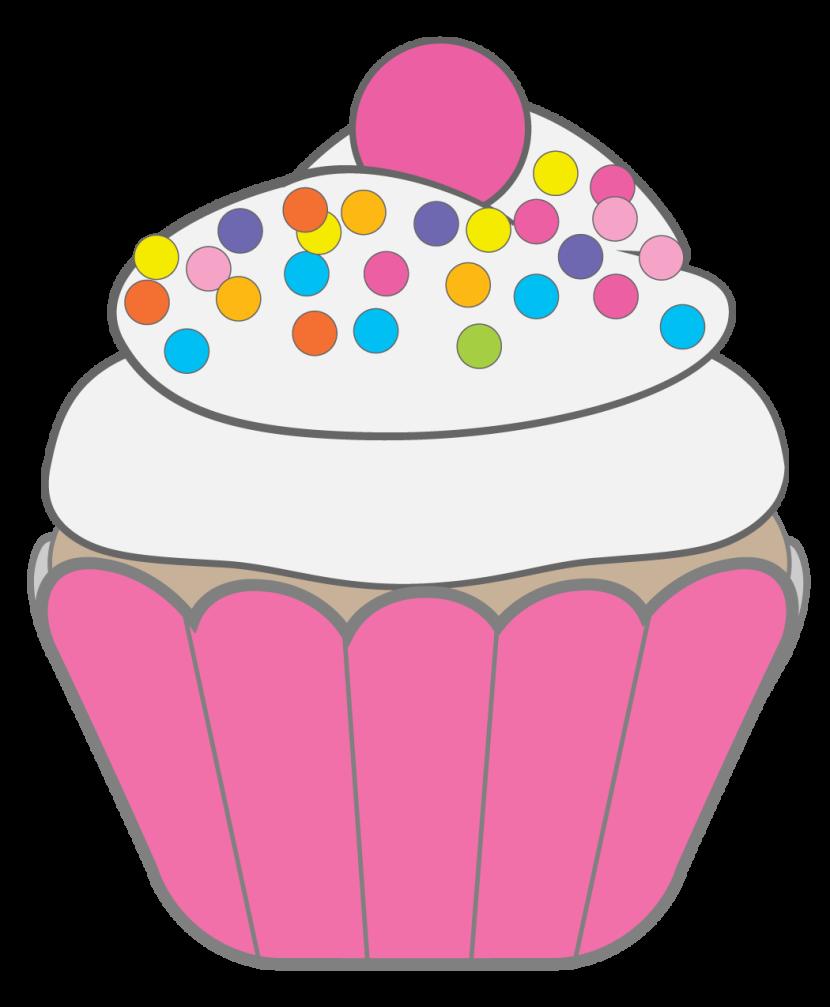 Cupcake Clipart--2