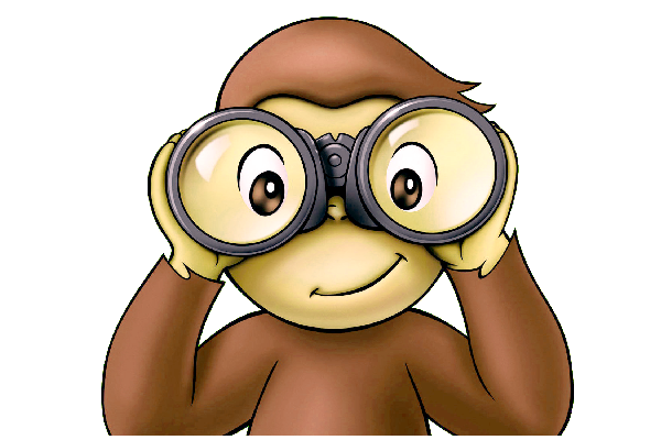 - Curious George Clip Art