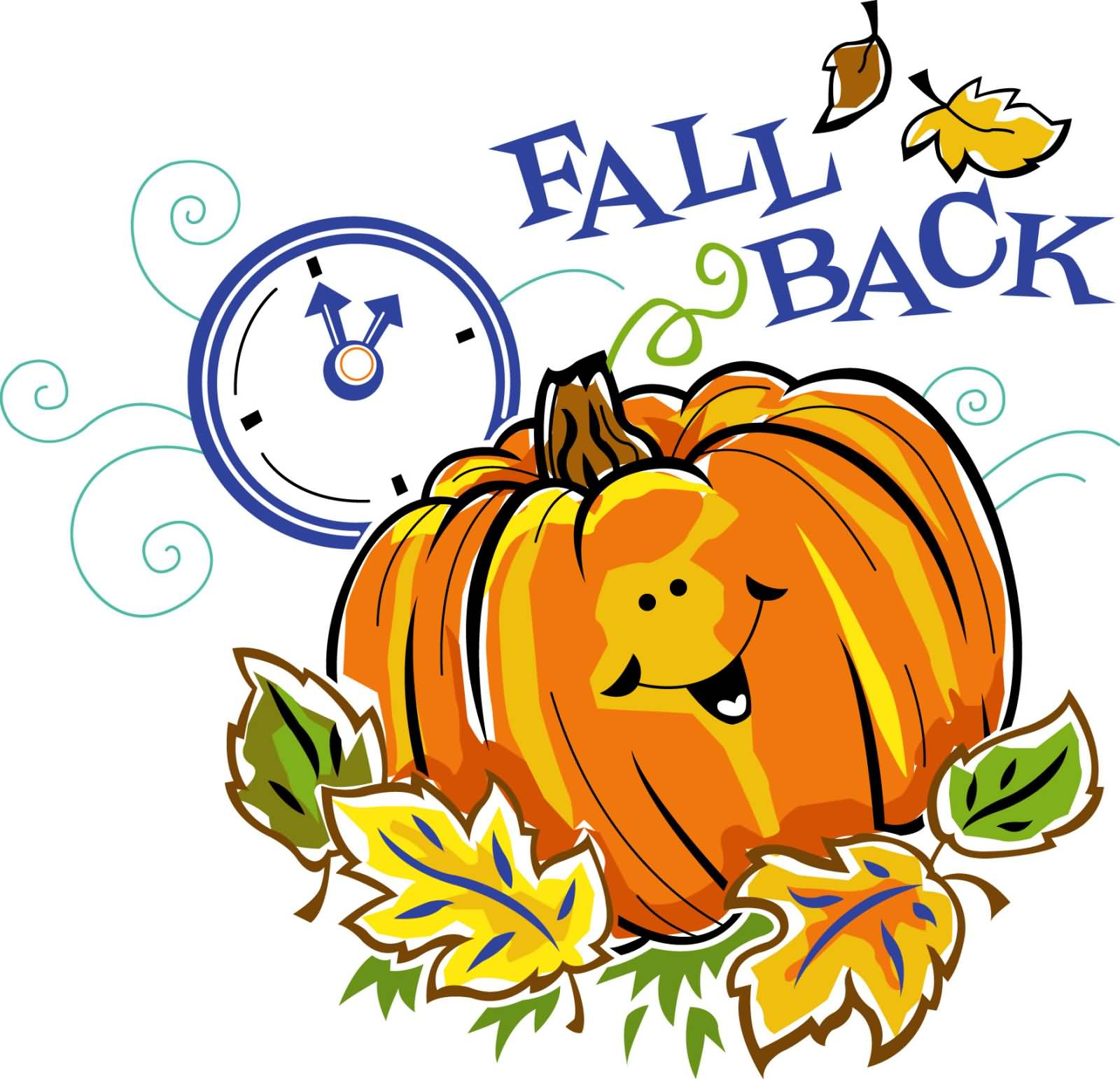 Daylight Savings Time Clipart