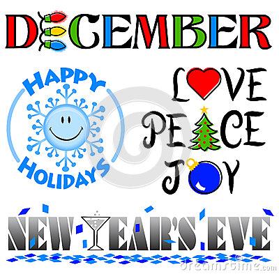 December Images Clip Art--0