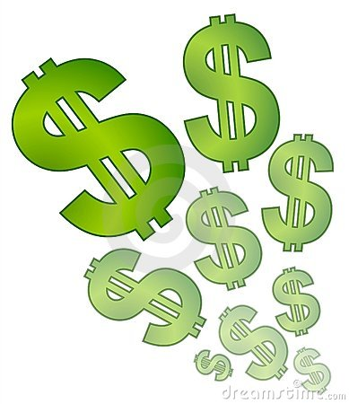 Dollar Signs Clip Art--12