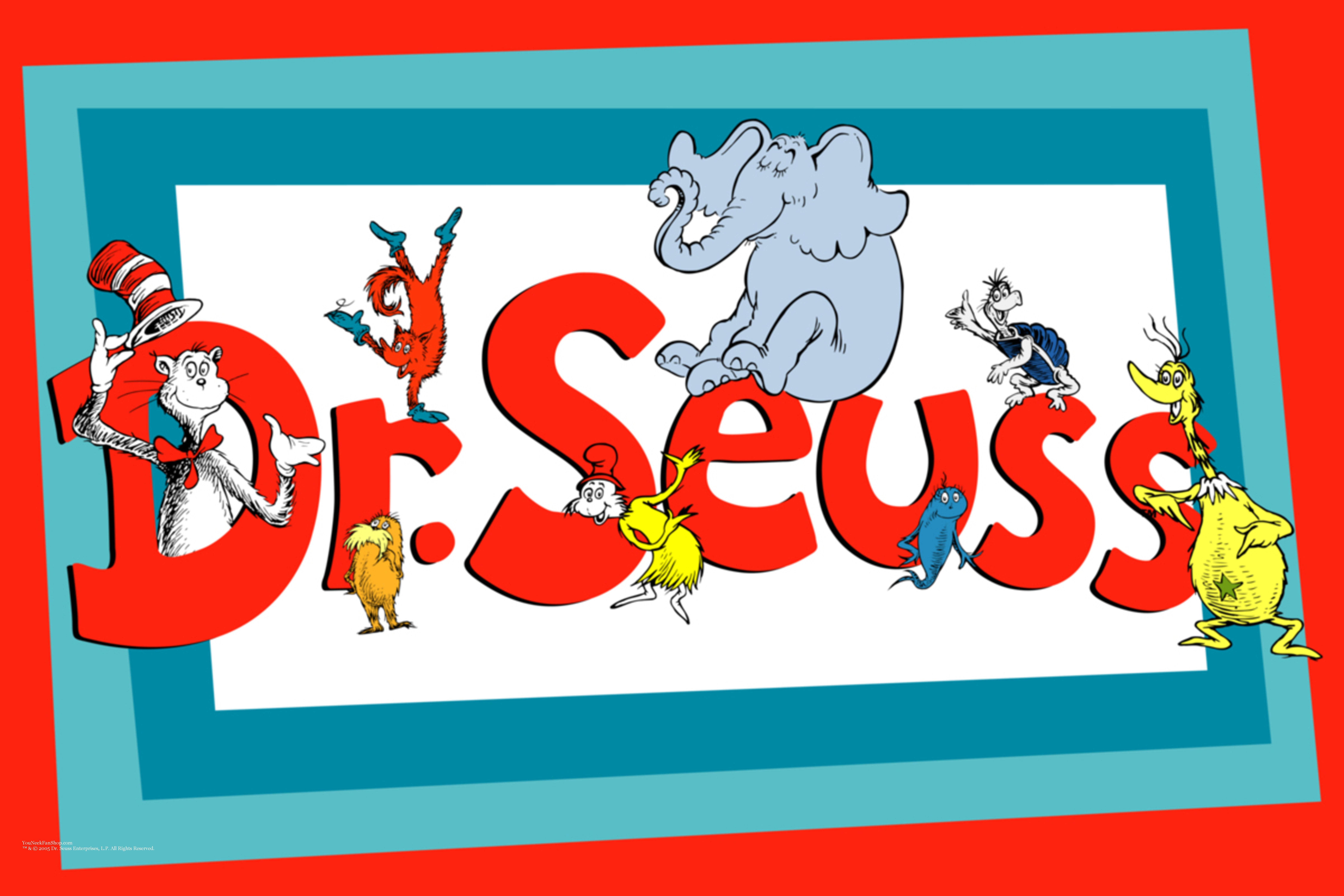 Dr Seuss Clip Art Images